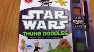 Star Wars Thumb Doodles By Klutz