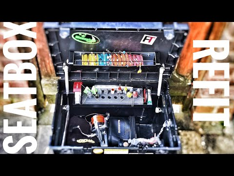 Team Daiwa Seatbox Conversion. Refitting My Tackle Box During The Lockdown.