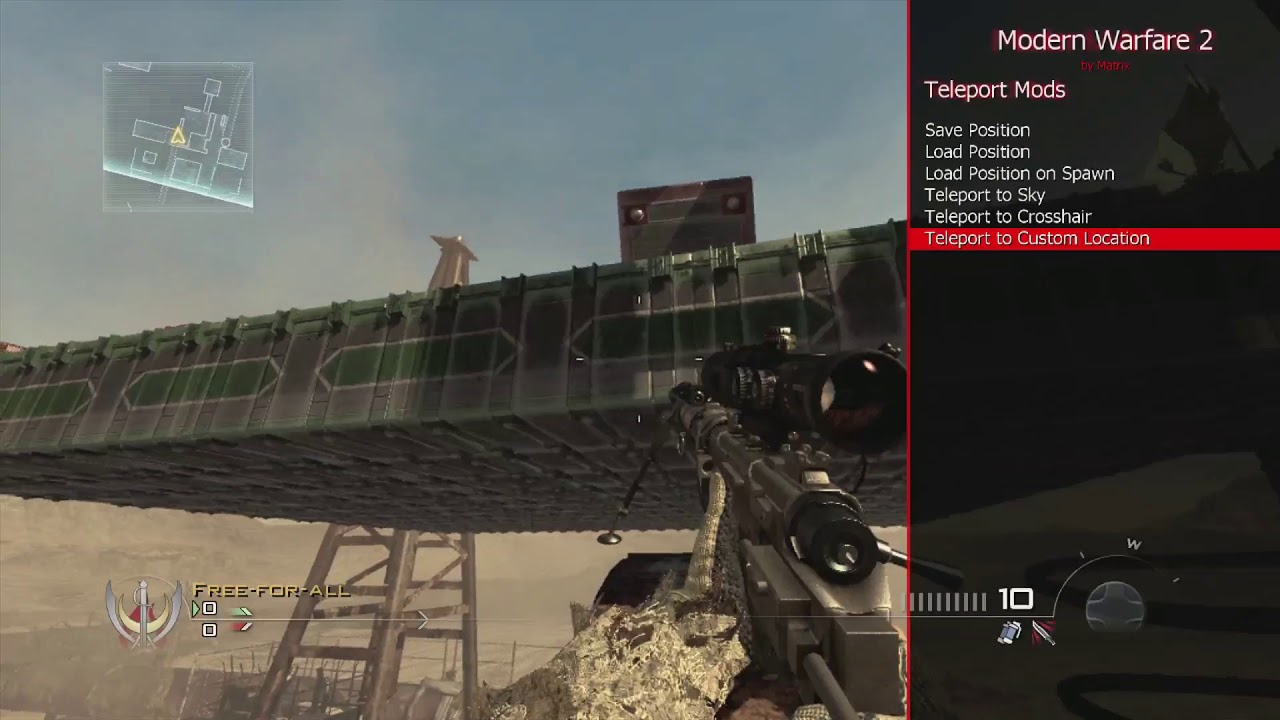 Matrix MW2 Host/Pre-Game & Azza Mod Menu JTAG/RGH (Best Azza Mod Menu!  Bounce, Slide)