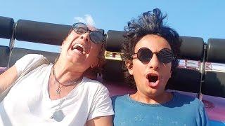 Mira ' nın Ege ile Lunapark Eğlencesi | Vlog | UmiKids