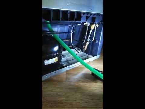 Течет холодильник Самсунг RL48. Устранение
