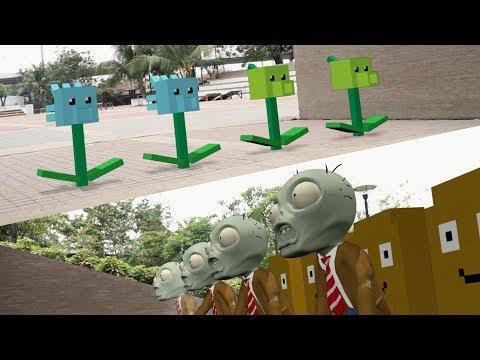 Plants Minecraft vs Zombies - Zombies Trap