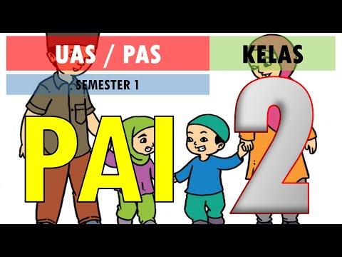 Latihan Soal UAS PAS PAI BP Kelas 2 SD Kurikulum 2013 Semester 1 (Ganjil) dan Kunci Jawaban