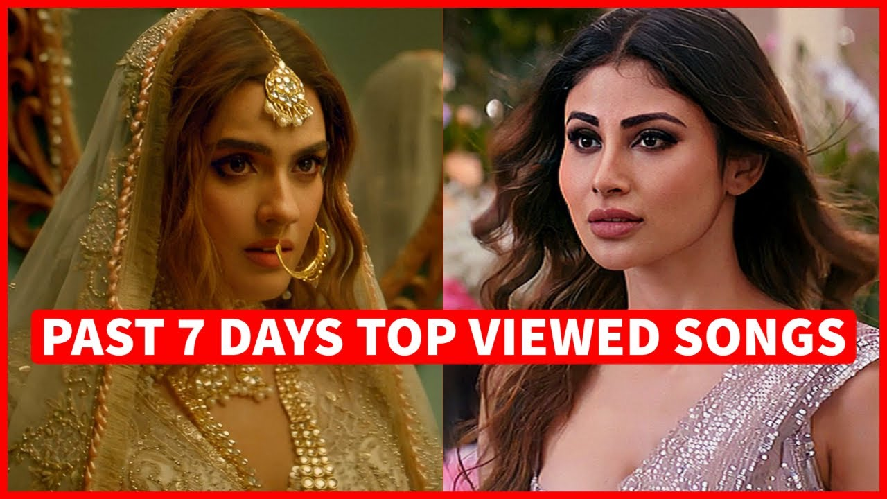 Past 7 Days Most Viewed Indian Songs on Youtube [4 October 2021]