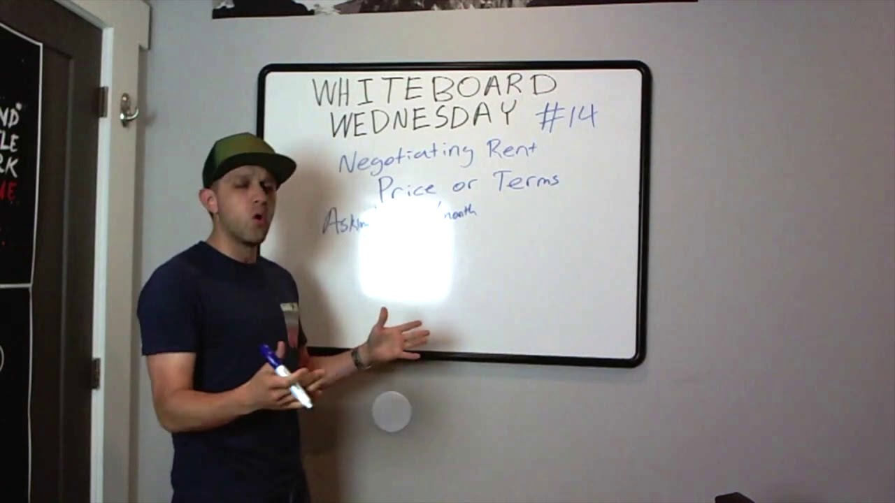 Negotiating Rent | Whiteboard Wednesday