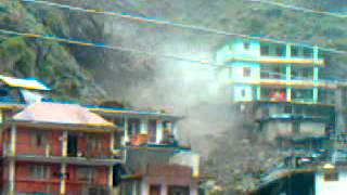 flash floods in Tapri, Kinnaur, Himachal Pradesh