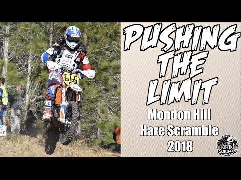 PUSHING THE LIMIT - Mondon Hill FTR Hare Scramble 2018