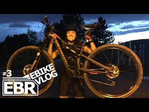 EBIKE VLOG #3 - New Bike for Mony! Night Ride in Fort Collins Colorado