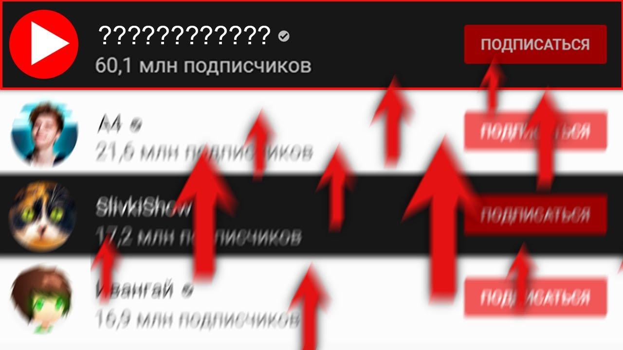 Первый русскоязычный канал, набравший 60 МЛН подписчиков