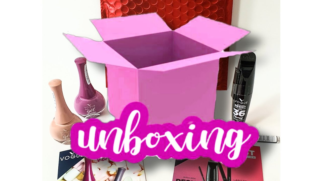 #78 Unboxing Paquete Vogue Cosmeticos