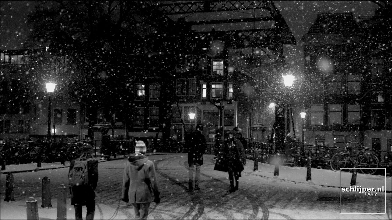 170211 oranjebrug snowing clip 1 youtube