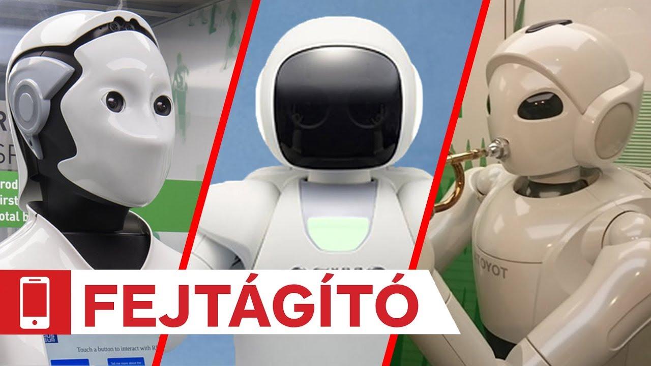 A munka jövője: a robottechnika