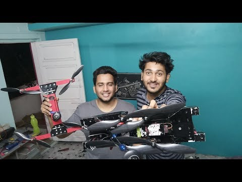 MAKING MY OWN CUSTOM DRONE DESIGN