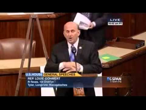 Gohmert on Possibility that U.S. Will Allow UN Vote on Palestinian State