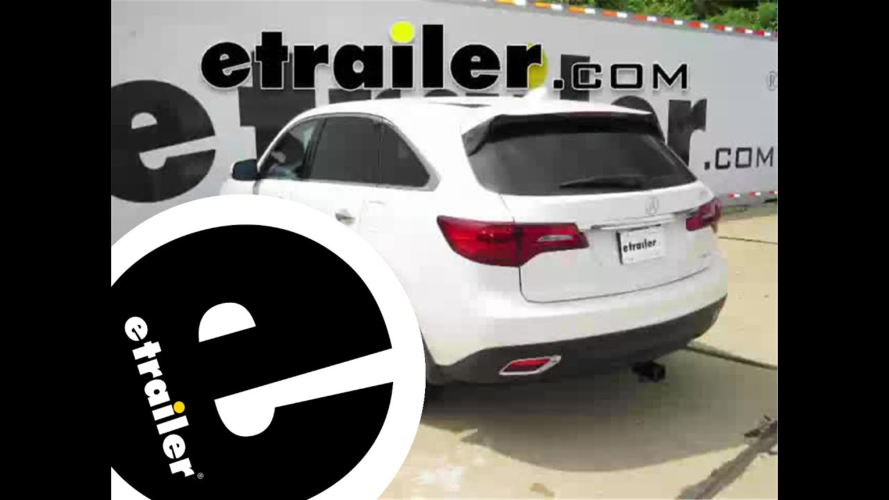 Install Trailer Hitch Acura Mdx C Etrailercom YouTube - Tow hitch for acura mdx