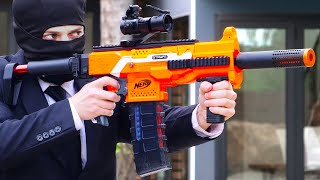 Nerf War: Snipers Vs Thieves Part 2