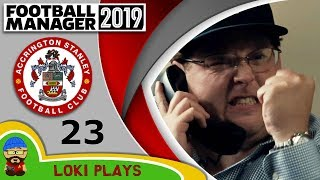 Football Manager 2019 - Episode 23 - Moneyball - The Stanley Parable - FM19