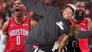 RUSSELL WESTBROOK BIGGEST FAN REACTS TO CP3 ROCKETS TRADE!