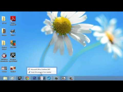 How to Reset My Win7 Taskbar Icons : Computer Icons