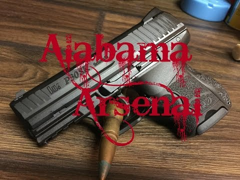 Hk P30sk shooting review