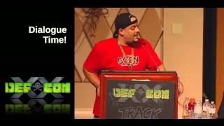 DEF CON 20 - Blakdayz and Panel - Connected Chaos Evolving the DCG