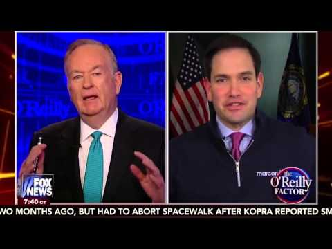 Marco Joins Bill O'Reilly To Discuss The 2016 Race | Marco Rubio for President