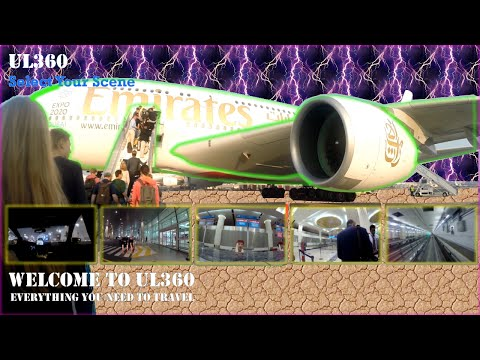 Stunning Dubai Airport T3 | Exquisite Duty Free | Aboard Entire Flight | ICE | A380-800 | EK147