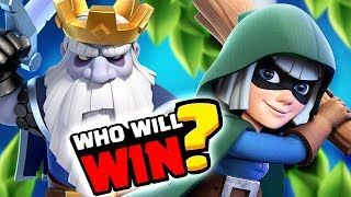ROYAL GHOST vs BANDIT - Epic Clash Royale Battle Highlights