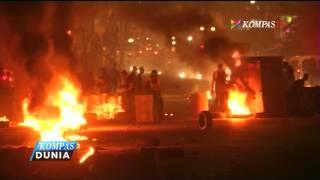 Warga Palestina dan Tentara Israel Saling Bersitegang