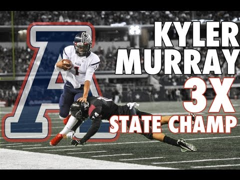 QB KYLER MURRAY 2014 Premium Playoff Highlights | Texas A&M Commit