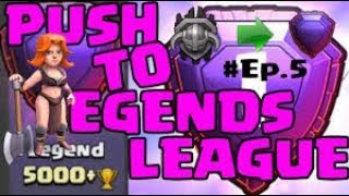 clash of clans legend league push ....500 sub grind and giveaway🔥🔥🔥