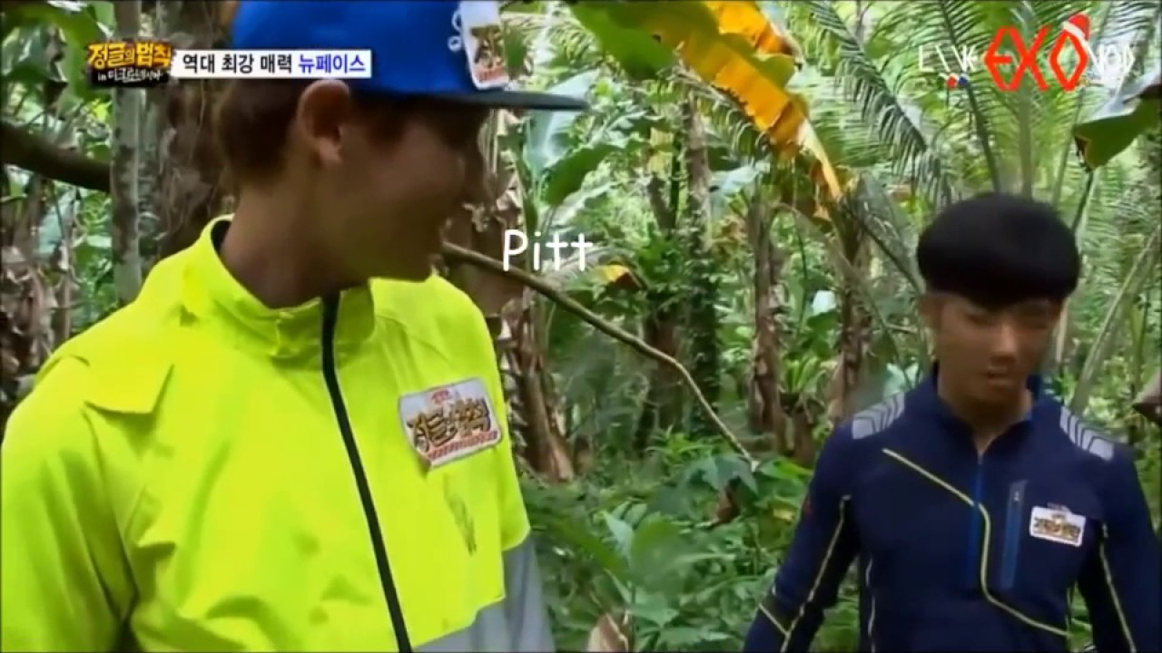 Chanyeol and Jonghyuk Beatboxing in Law of the Jungle (NUTZ)