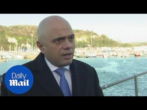 Sajid Javid: 'Genuine Asylum Seekers Safer Not Crossing Channel'