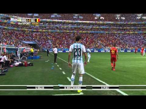 Argentina Vs Belgium 2014 World Cup