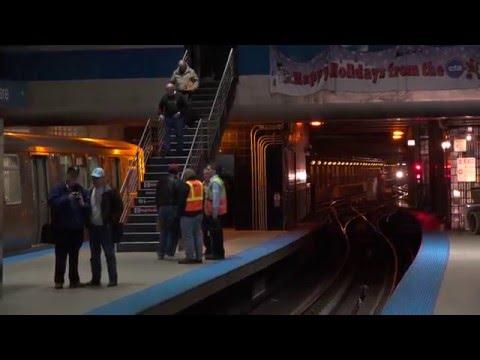 CTA Blue Line Trains at O