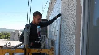 видео Заделка швов в панельных домах. Чем заделать швы между плитами в панельном доме?
