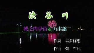 渋谷川♪山本譲二&城の内早苗♪カラオケ