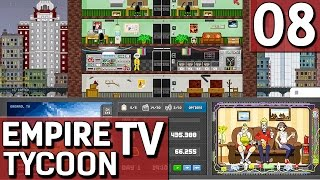 Empire TV Tycoon #8 Weitere Updates Der TV Sender Manager