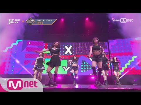 [KCON NY] TWICE - Bad Girl Good Girl+Nobody+Honey ㅣ KCON 2017 NY x M COUNTDOWN 170706 EP.531