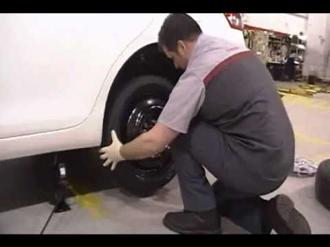 Auto Care And Maintenance How To Change A Flat Tire Youtube
