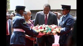President Uhuru leads family to honour Mzee Jomo Kenyatta