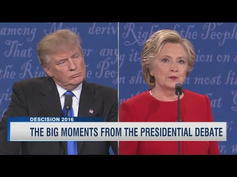 The social media response to the first presidential debate