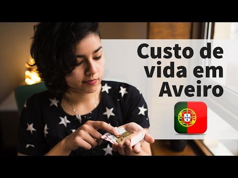 Custo de vida em Aveiro - Portugal - Aveiro para Brasileiros #01