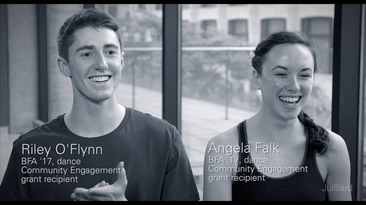 Juilliard Snapshot: Riley O'Flynn and Angela Falk's Summer Plans