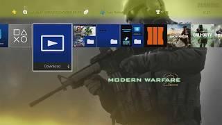 PS4 Modern Warfare 2 Theme by zSAMzHD