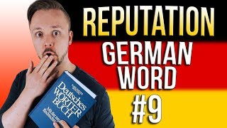 Learn German A.1 🇩🇪 Word Of The Day: die Reputation | Episode 09 | Get Germanized
