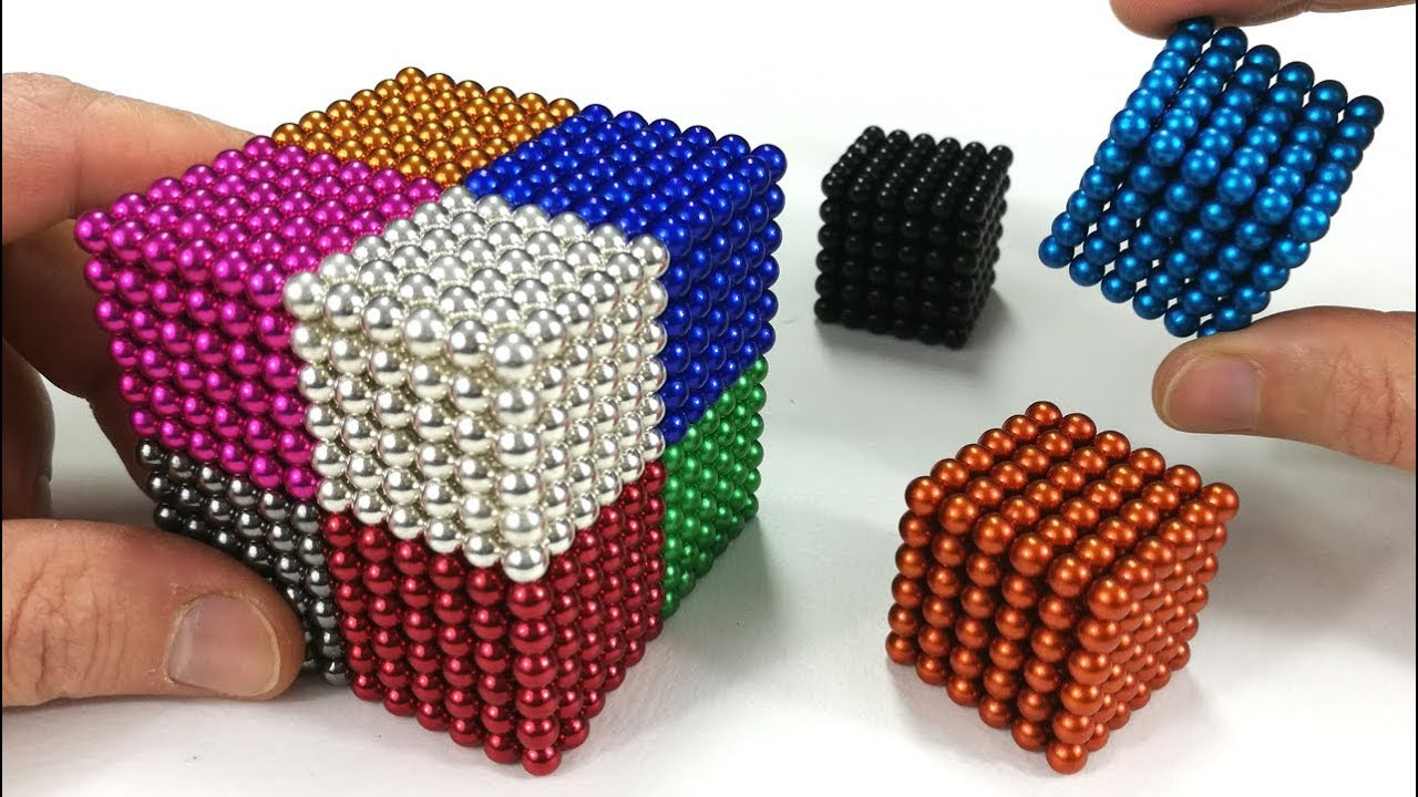 Playing With Magnetic Balls Satisfaction 100 Magnetic Games