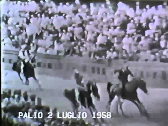 Palio 2 luglio 1958