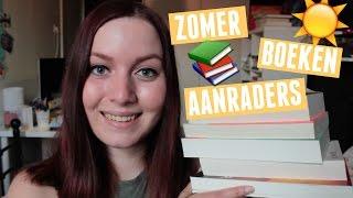 ZOMER BOEKEN AANRADERS  | Fleurine & Boeken