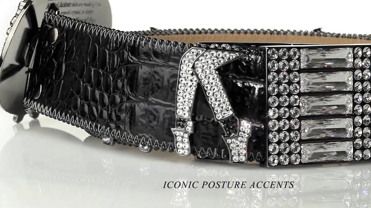 55f932725c12 OFFICIAL VIDEO - Michael Jackson Swarovski Crystal Belt by B.B. Simon -  LovinLife Multimedia